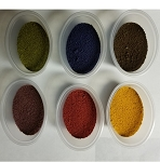 Granulated Powder dye  Set of 6