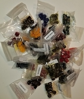 Mix and match dye chips - 100 dye chips 10 packs of 10