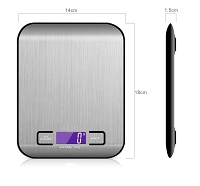 Digital Scale 11 pound max weight