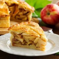 Hot Baked Apple Pie